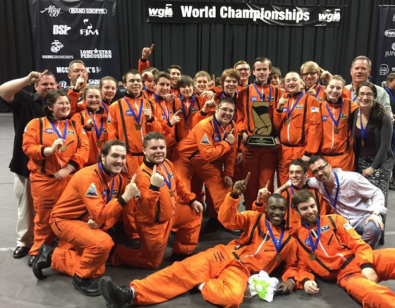 Mansfield Percussion Ensemble takes home the gold from WGI as World Champions! One of the reasons the Band Parents Association works so hard to support the kids!